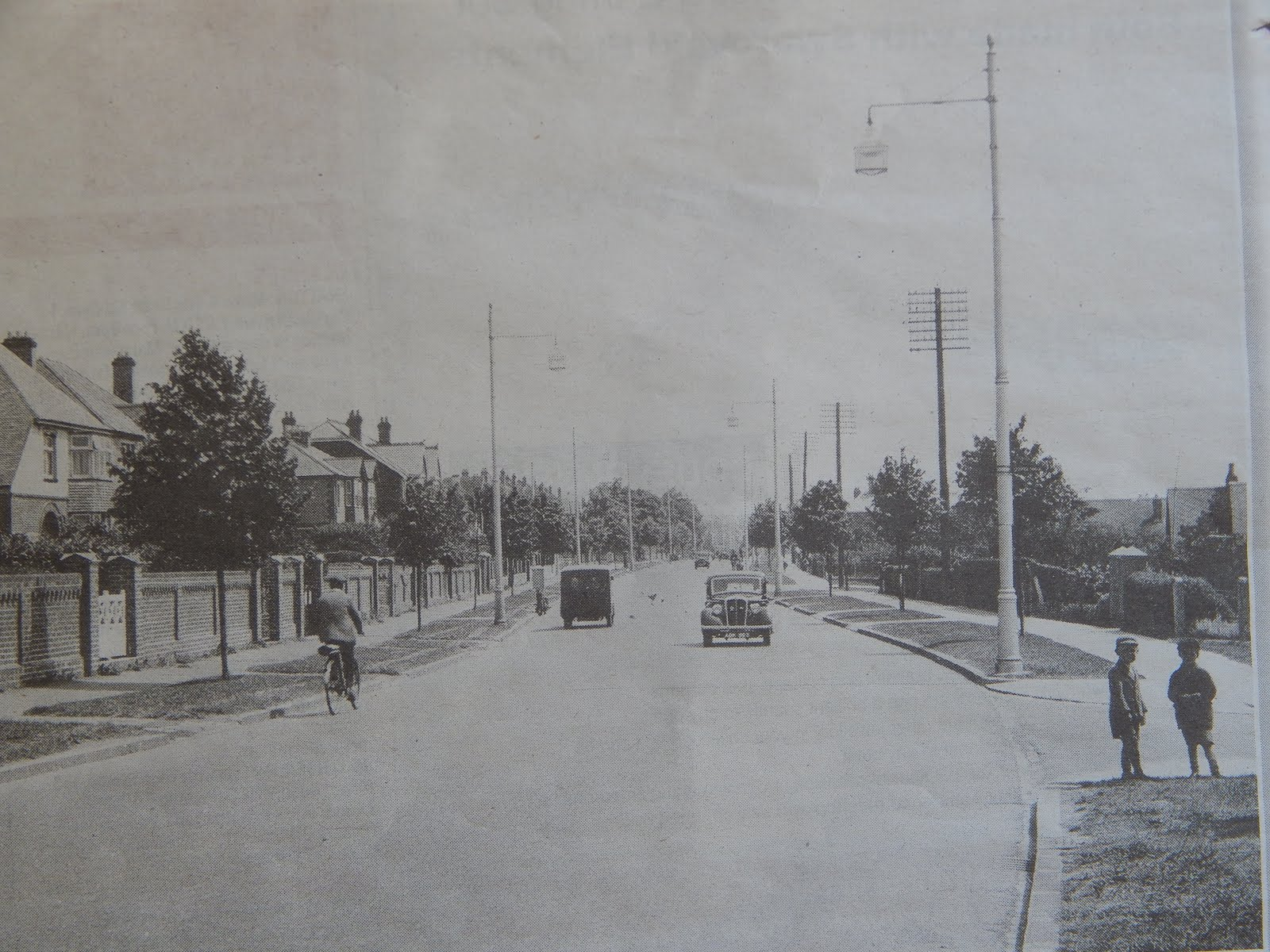 The Havant Road in the 1830s