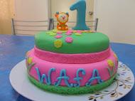 [Fondant Birthday Cake]