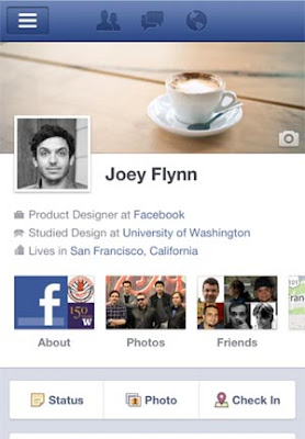 Facebook Timeline android