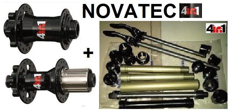 hub freehub novatec 4in1