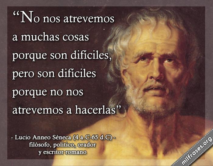frases de Lucio Anneo Séneca, filósofo, político, orador y escritor romano