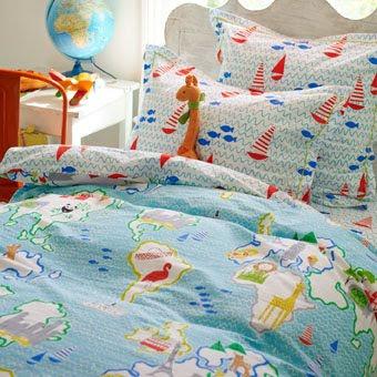 Around the World. Funda nordica . Designers Guild kids.