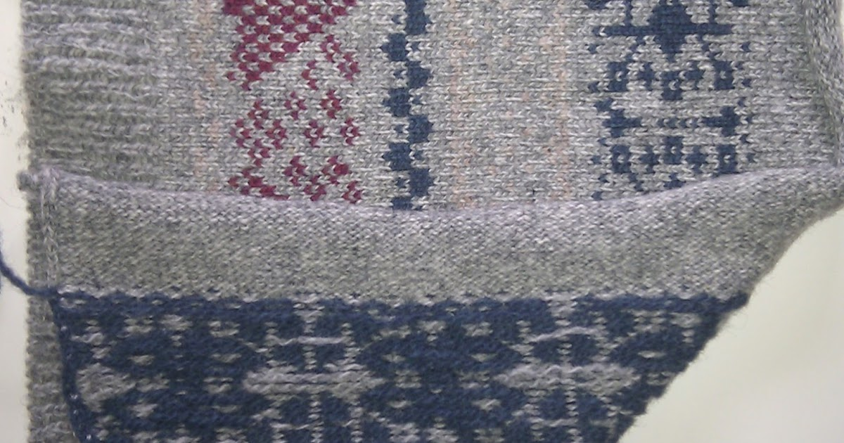 Fair Isle vs. Jacquard on the Machine - Pattern Central ...