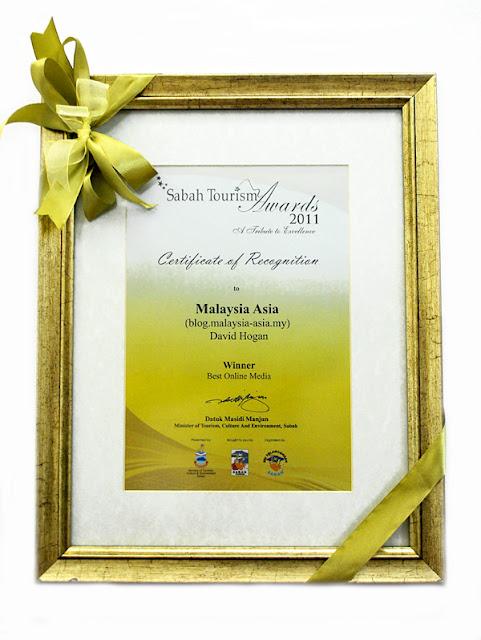Malaysia Asia Sabah Tourism Awards