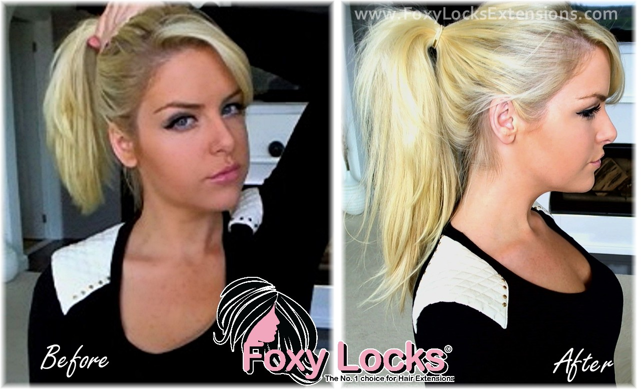 How To Put Your Hair Up Ponytail Using Clip In Extensions