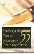 """Livro """"Antologia de Poetas Brasileiros Contemporâneos v. 55"""""""