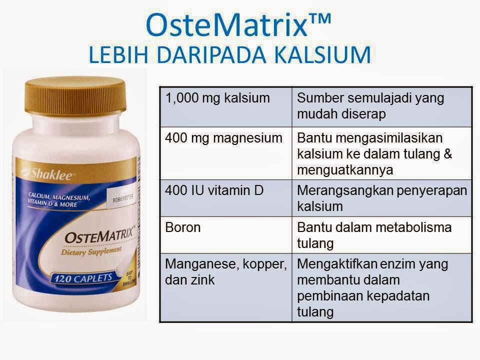 Image result for osteomatrix shaklee