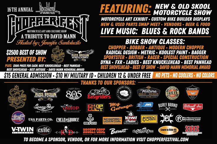 Join Us for the 16th Annual Chopper Fest