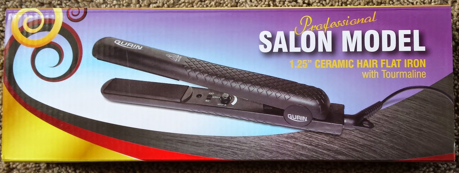 Frugal Shopping And More Gurin Ceramic Flat Iron Hair