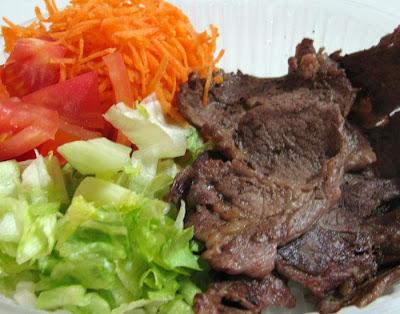Dieta del bife con ensalada para adelgazar 3 kg en 10 dias.
