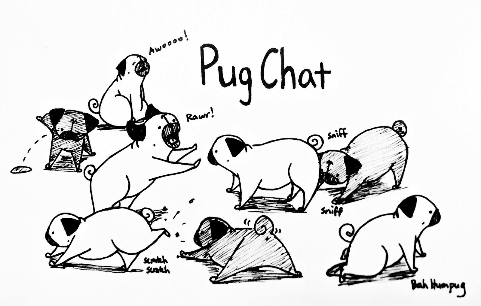 bah humpug pug chat