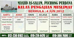 Kelas Pengajian Muslimat di Masjid As-Salam Puchong Perdana