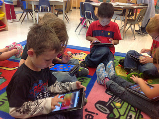 Kathy Cassidy's Students Using Ipads by Kathy Cassidy