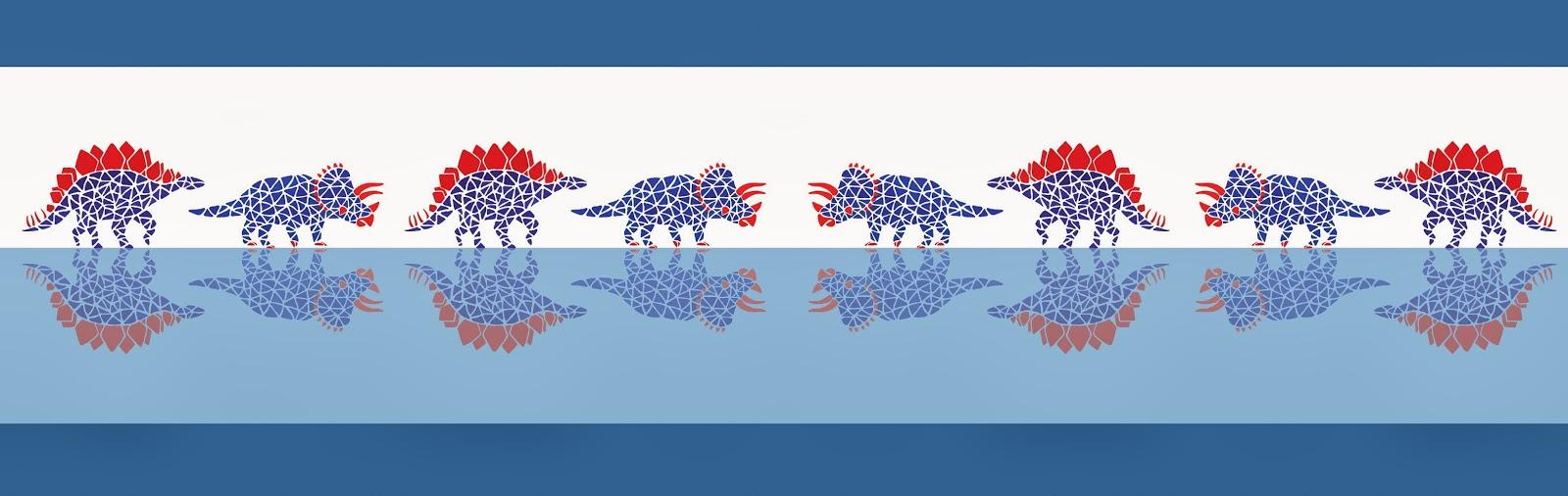 Dinos on Water - Jen Haugan Animation & Illustration