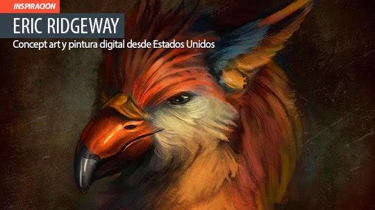 Concept art y pintura digital de ERIC RIDGEWAY