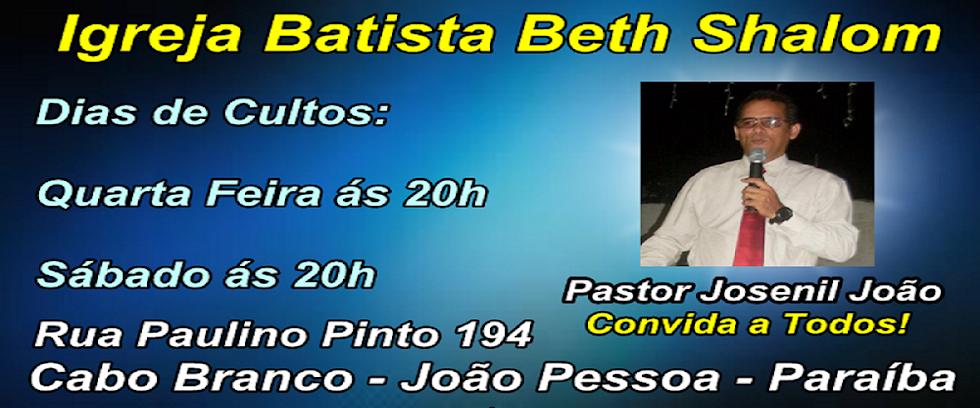 PARCERIA - IGREJA BATISTA BETH SHALOM