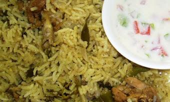 Andhra Chicken Pulao