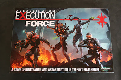 Portada de la caja de Assassinorum Execution Force