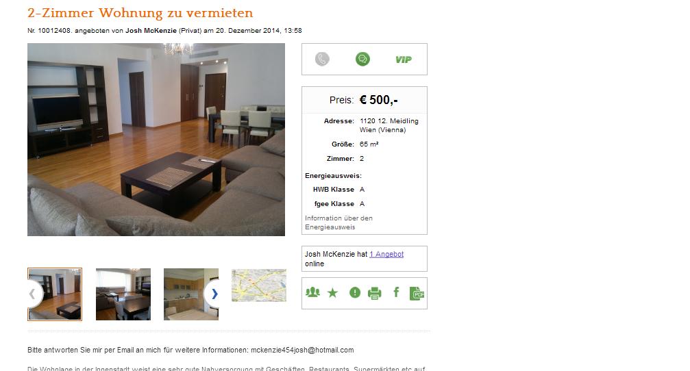 Facebook Wohnung Vermieten : alias oliver ellis 2 zimmer ~ Lizthompson.info Haus und Dekorationen