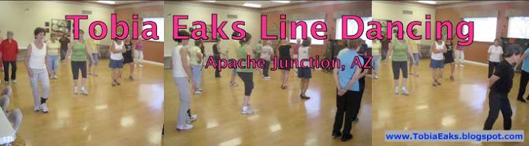 Tobia Eaks Line Dancing