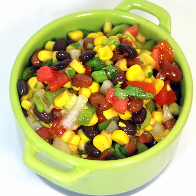 Inspired by erecipecards cowboy caviar relish 52 bbq for Side dish recipes for grilling out