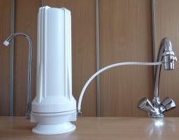 filtre à eau pour évier