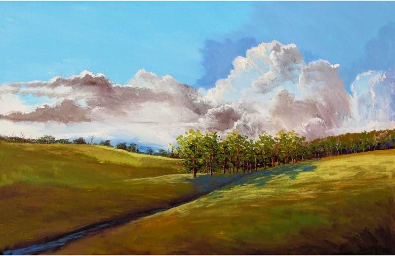 artist derek collins blog modern impressionist landscape paintings