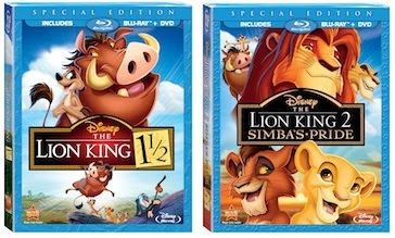 The Lion King 1 1/2 and The Lion King 2