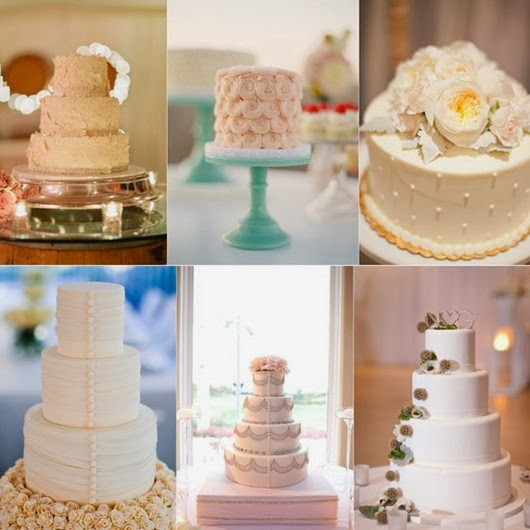 neutral wedding ideas wedding-cakes-palette