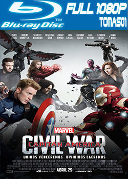 Capitán América: Civil War (2016) BRRip Full HD 1080p / BDRip 1080p DTS