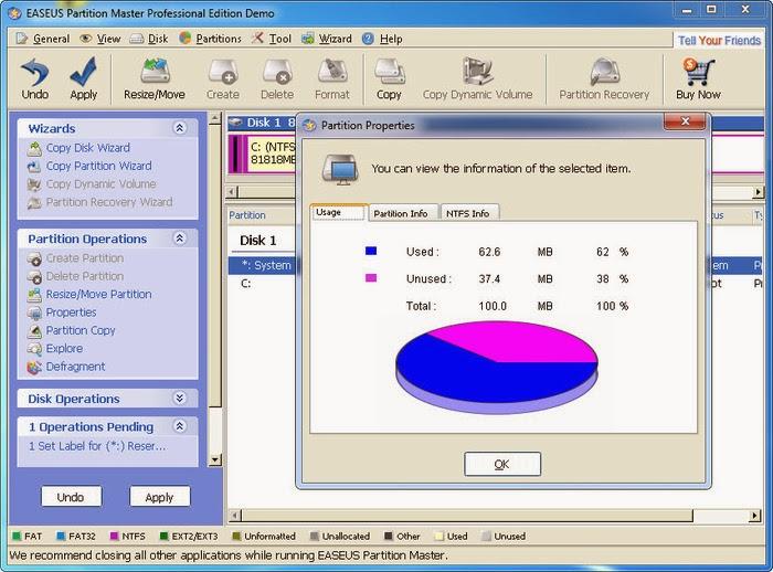 easeus partition master serial key facebook