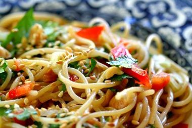 Vermicelli In Chili Oil, Soy Sauce, And Vinegar Recipes — Dishmaps