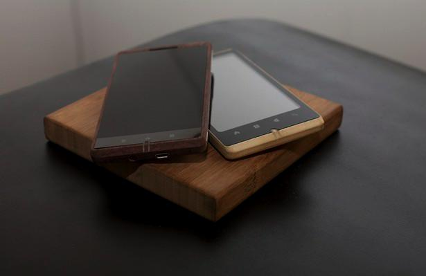 ADzero Ponsel Android Unik Terbuat dari Bambu