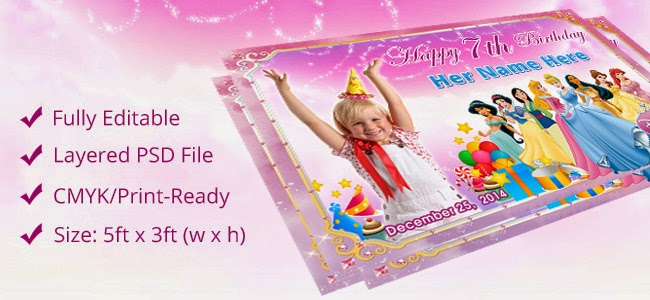 Birthday Tarpaulin Design Template Free Download