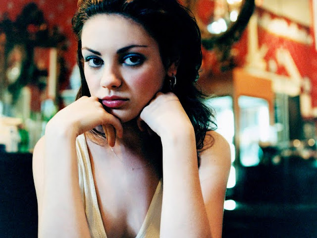 Ukrainian Actress Mila Kunis