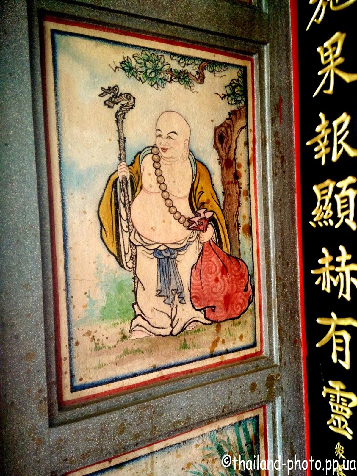 Китайская роспись в Бангкоке