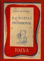 Domicili provisional (Manuel de Pedrolo)