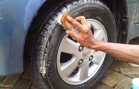 membersihkan ban mobil sendiri dengan baik dan benar