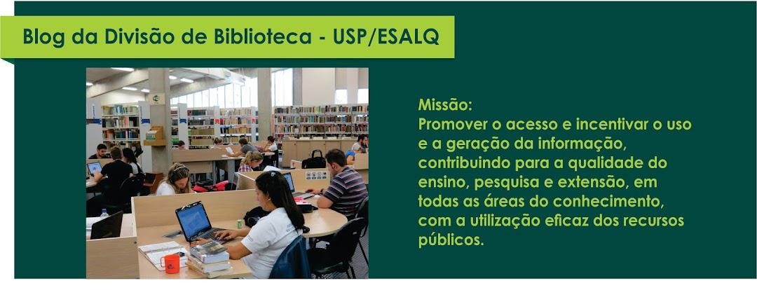 Divisão de Biblioteca | USP/ESALQ | Piracicaba, SP