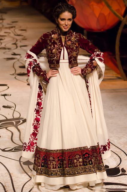 Rohit Bal Sahar Biniaz India Bridal Fashion Week 2013