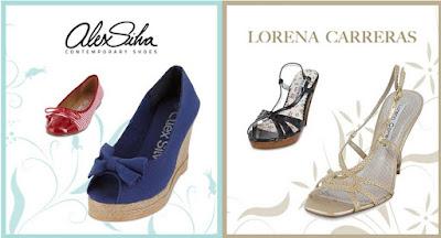 Oferta de calzado de Alex Silva y Lorena Carreras