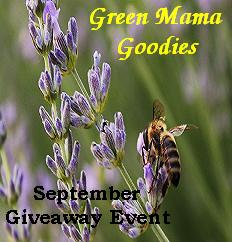 Giveaway: Green Mama Goodies, 9/1 22