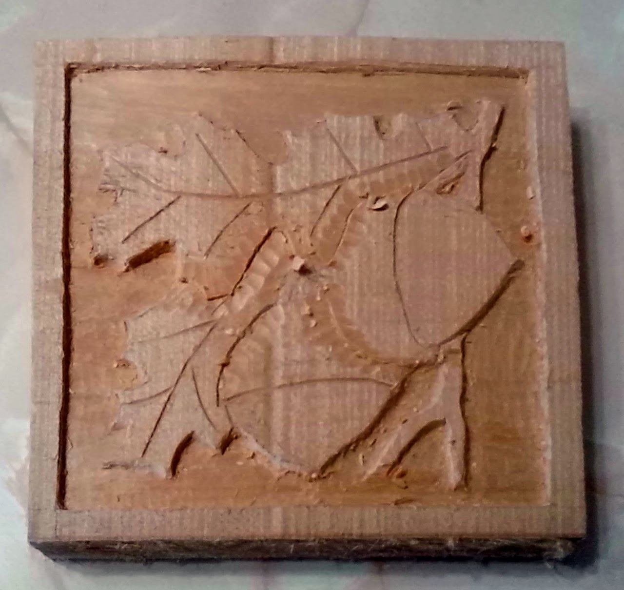 Politics power and science: wood carving again.