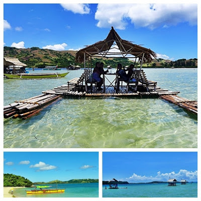 SKY is the Limit...  Heavenly Wonders of Caramoan, Camsur / dining while afloat