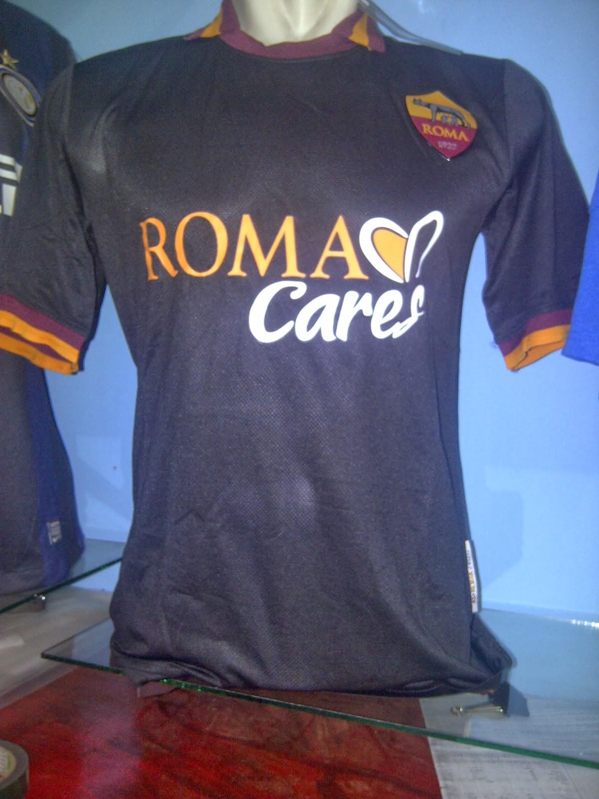 Jual Kaos Bola Jersey Jersey Bola Grade Ori AS Roma 3rd