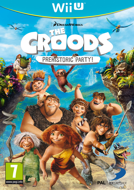 Portada Wii U final para The Croods