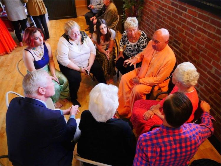 At Namaste 919 yoga studio in Old Forge, PA
