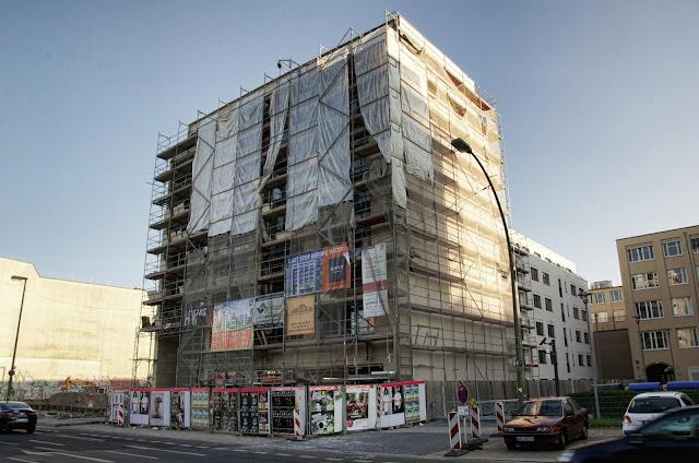 Baustelle Wohn- und Geschäftshaus, Chausseestraße 88, 10115 Berlin, 07.07.2013
