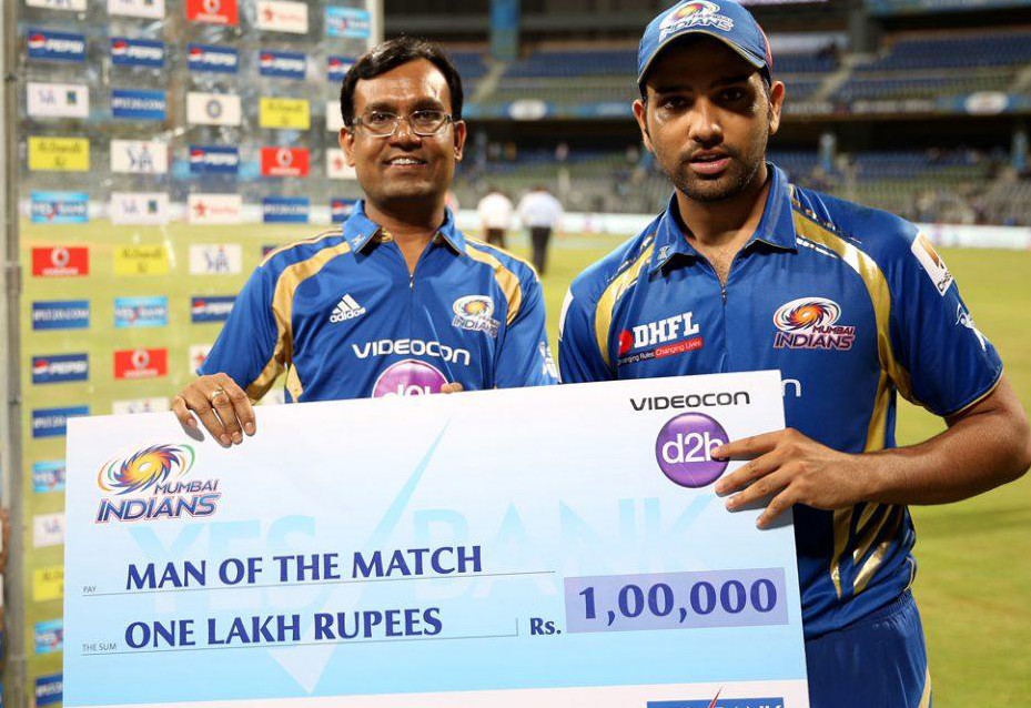 Rohit-Sharama-man-of-the-match-MI-vs-KXIP-IPL-2013