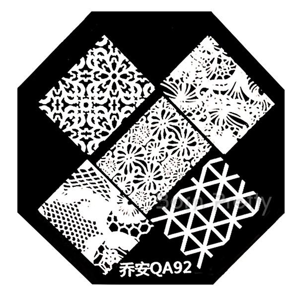 Born Pretty Store Stamping plates QA91,QA92, QA93,QA94, QA98